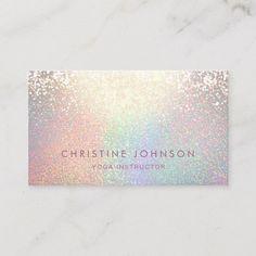 Shop faux glitter pattern business card created by indiamylove. Beauty Business Cards, Salon Business Cards, Unique Business Cards, Lotus Mandala Design, Bussiness Card, Grafik Design, Card Templates, Business Card Design, Identity Branding