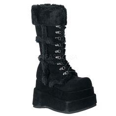 "BEAR-202 4 1/2"" P/F Size: 6-12 Brand (Sock Label/Packaging): Demonia"