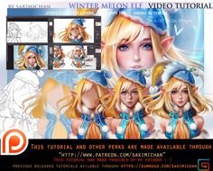 Face Book llOnline Store ll Tumblr ll Help support me on Patreon and get special perks<3llArtstationlInstagram(new) gumroad(tutorial store)  another detailed a...