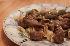 Beef Tips & Gravy With Rice. Photo by ErnaR