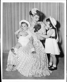 Lucy and Children - 1950's