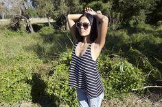 Eco Warrior Princess: Jennifer Nini wearing top from Synergy Organic Clothing