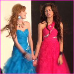 Caption This Photo: Bella Thorne And Zendaya Coleman At The Seventeen Magazine Prom Photo Shoot