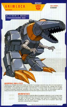 Transformer of the Day: Grimlock (Part 2)