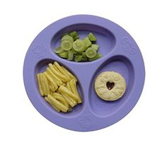 oogaa Baby and Toddler Divided Plate - Purple
