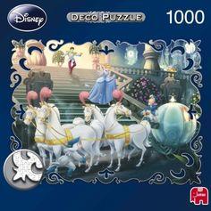 Disney's Cinderella 1000pc Deco jigsaw 01948