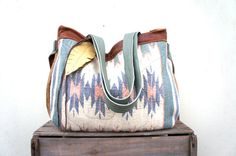 NEW///JOSEPHINE In Southwestern Tapestry with Teal by arebycdesign