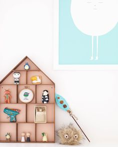 Find a place for your favourite small toys in the Little Dorm:  http://www.fermliving.com/webshop/shop/all-products/the-little-dorm.aspx