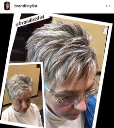 Brandi loves to show her clients the dimension you can see by adding in a few low lights! Time for your fall color 918-369/8482