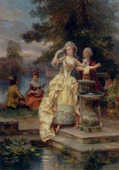 Les Amiants by Cesare-Auguste Detti