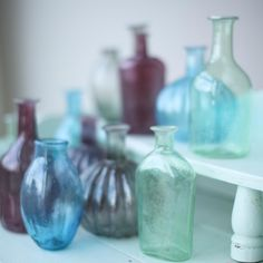 Baloo Glass Bottles (Set of 4) - nkuku