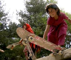 Skateistan began as a Kabul-based Afghan NGO, and now operates projects in Afghanistan and Cambodia. Skateistan focuses on reaching out to girls and working children, using skateboarding as a tool for developing leadership opportunities, and building friendship, trust, and social capital among its students.