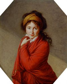 Élisabeth Vigée Le Brun (1755-1842), Portrait of Countess Golovine, 1797-1800 | The Barber Institute of Fine Arts, Edgbaston