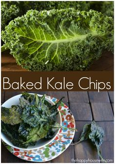 kale chips? I was shocked the first time we tried them. Baked kale ...