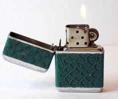 1950s Working Pocket Lighter Storm King by VintageTobacciana