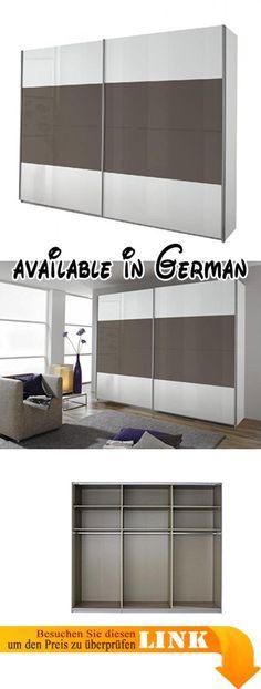 B01EPUK7EO  Wimex 247628 Drehtürenschrank Holz weiß/eiche sägerau - schlafzimmerschrank weiß hochglanz