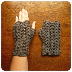 Looking for your next project? You're going to love Glorieux Mitts DK by des… Looking for your next project? You're going to love Glorieux Mitts DK by designer SharaDesigns. Crochet Fingerless Gloves Free Pattern, Fingerless Mittens, Crochet Motifs, Crochet Shawl, Tunisian Crochet, Crochet Granny, Bracelet Crochet, Crochet Wrist Warmers, Arm Warmers