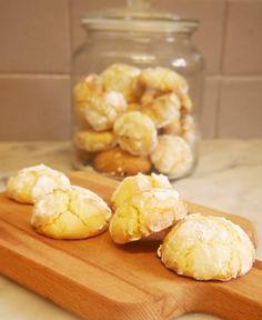 Des petits crinkles gourmands au citron en version sans gluten évidemment !