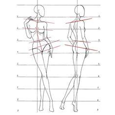 Пока я еду на мастер-класс в @fantasy_room_moscow , решила поделиться с вами схемами для построения динамических поз в рамках рубрики… Fashion Design Sketches, Fashion Design Template, Fashion Templates, Illustration Sketches, Art Sketches, Body Sketches, Posture Drawing, Fashion Sketchbook, Fashion Figure Drawing
