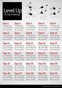 easy 30 day challenge to add to your workouts