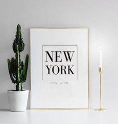 New York, plakat