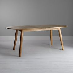 Buy John Lewis Enza 6-10 Seater Extending Table Online at johnlewis.com