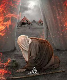IMAM ALI IBN HUSSAIN AL SAJJAD A.S ON THE DAY OF ASHURA