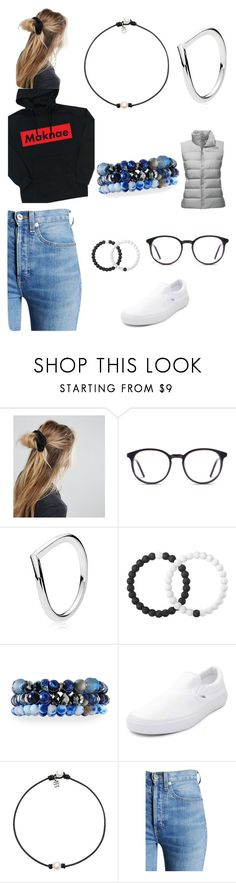 """""""Wowza"""" by mattox-z on Polyvore featuring ASOS, Pandora, Lokai, Lydell NYC, Vans, RE/DONE and The North Face"""