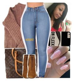 """turn the bryson tiller off, lemme f*ck you to this gangster music"" by lamamig ❤ liked on Polyvore featuring Acne Studios, Louis Vuitton and Yves Saint Laurent"