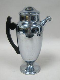 Vintage Chrome Martini Shaker