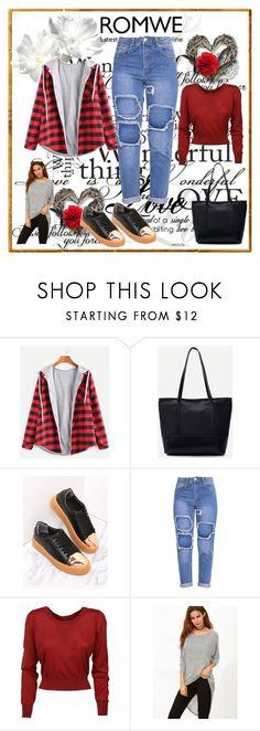 """""""Romwe 6"""" by dinka1-749 ❤ liked on Polyvore featuring Dolce&Gabbana"""