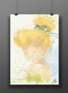 Original+Disney+Poster+Tinkerbell+//+Abstract+Digital+by+GingerZAP,+$20.00