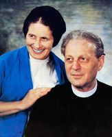 Pastor Richard Wurmbrand (March 24, 1909 - February 17, 2001)  Sabina (Oster) Wurmbrand(July10,1913 - August 11,2000