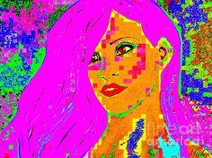 Rhiana Pop Art 2 XL :SaundraMylesart