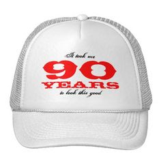 Birthday Hat For 90 Year Old