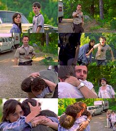 The Walking Dead, Rick finds his family.