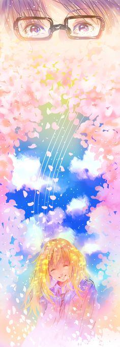 The spring I met you in. || Shigatsu wa Kimi no Uso