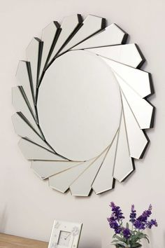 Easy And Cheap Diy Ideas: Wall Mirror Classic Foyers white wall mirror entrance.Wall Mirror Interior Home Decor hanging wall mirror color schemes. Fancy Mirrors, Wall Mirrors Entryway, White Wall Mirrors, Rustic Wall Mirrors, Round Wall Mirror, Glass Mirrors, Mirror Bedroom, Mirror Ideas, Mirror Mirror