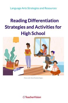 These ready-to-go reading activities and strategies will help you quickly and easily support students at all levels across the high school grades. Reading Resources, Reading Activities, Reading Skills, Differentiation Strategies, Teaching Strategies, School Grades, High School Students, Learn To Read, Reading Comprehension