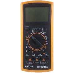 EXCEL DT9208A LCD Display Digital Multimeter Voltmeter Ammeter Ohmmeter Capacitance Frequency Meter Temperature Tester