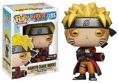 Pop! Animation Naruto Shippuden - Naruto (Sage Mode)Exclusive  185