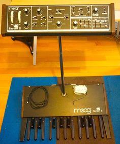 MATRIXSYNTH: MOOG TAURUS II W/ Bass Pedals SN 2185