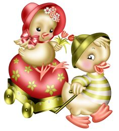 View album on Yandex. Cute Animals Images, Cute Images, Easter Drawings, Cute Drawings, Easter Art, Easter Crafts, Photos Mickey Mouse, Valentines Day Clipart, Creative Flower Arrangements