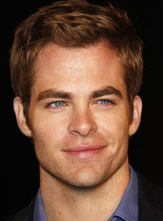 Chris Pine. It's the eyes that get me. Every time.