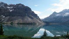Icefield Parkway between Jasper and Banff in Alberta, Canada