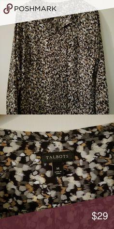 Selling this Talbots blouse on Poshmark! My username is: mlm89673. #shopmycloset #poshmark #fashion #shopping #style #forsale #Talbots #Tops