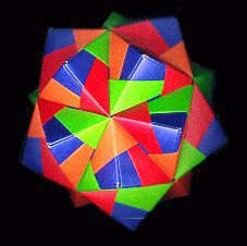 Math, Geometry & Art. This site provides links to a very large number of sites for teaching students how to make  origami forms, tessellating shapes, cubes, pyramids, prisms, polyhedra, tetrahedra, rhombic dodecahedra, icosahedron globes, geodesic domes & buckyballs. Incredible site . . . making math an art & art mathematical.