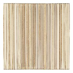 """Tableau by Kelly Wearstler 9"""" x 9"""" Crescent Field tile in New Spiced Ginger"""