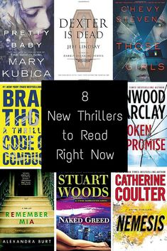Thrillers to read this month