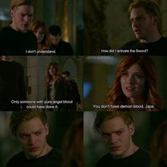 """3,913 Likes, 24 Comments - Shadowhunters Updates (@nephilimupdates) on Instagram: """"Jace couldn't be happy that he didn't have Demon blood cause that led to the death of so many…"""""""